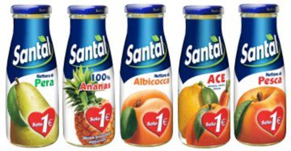 Succhi di Frutta Santal 0,200lt x 24 bott.