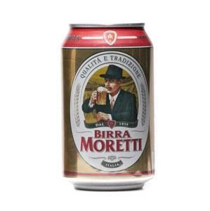 Birra Moretti 0,33lt x 24 latt.