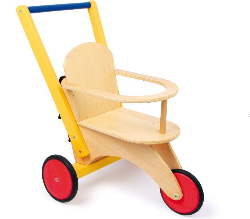 """Triciclo per Bambole e Peluches """"Buggy"""" della Legler"""