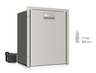 Frigorifero a cassetto in acciaio inox DW42 RFX singolo compartimento frigorifero (unità refrigerante esterna) di Vitrifrigo - Offerta di Mondo Nautica  24
