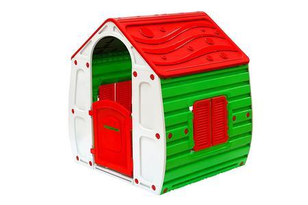 Casetta da bambini per giardino GLOBO 07243 Gioco Casetta Multicolore