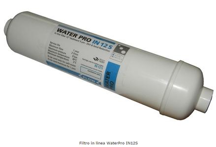 Filtro in linea Water Pro in linea IN 12 pollici Sedimenti in confezione da tre pezzi.