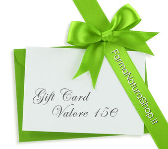 GIFT CARD - CARTA REGALO 15€