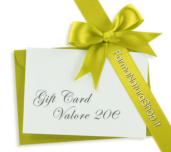 GIFT CARD - CARTA REGALO 20€