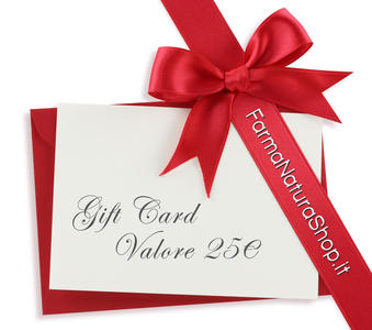 GIFT CARD - CARTA REGALO 25€