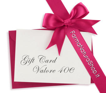 GIFT CARD - CARTA REGALO 40€