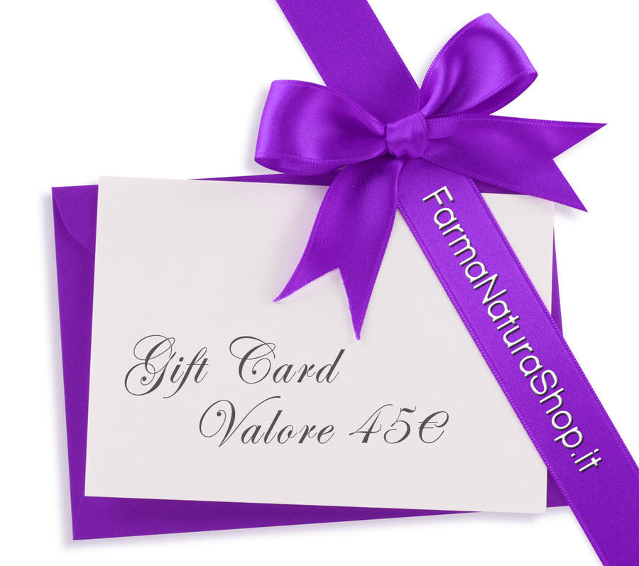 GIFT CARD - CARTA REGALO 45€