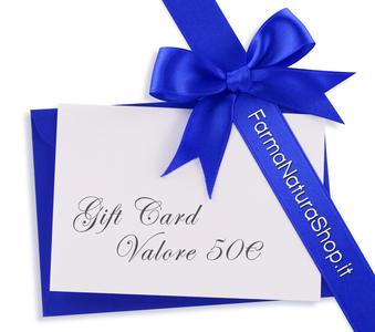 GIFT CARD - CARTA REGALO 50€