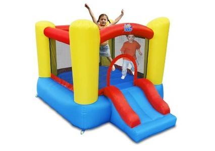 Gioco Gonfiabile per bambini SCIVOLINO Art.9503 Mis.253 X 200 Cm Motore Incluso Offerta Giochi Gonfiabili