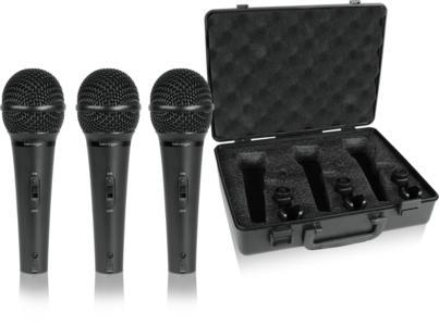 Behringer XM1800S - Set 3 microfoni