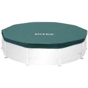 Intex 28030 il telo di copertura universale versione nuova adatto a piscine rotonde fuori - Telo copertura piscina intex ...