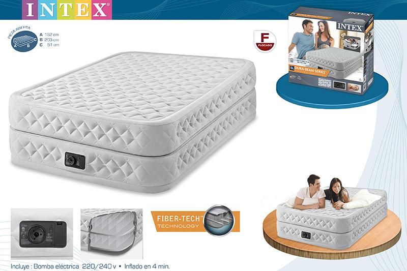 Materasso gonfiabile intex supreme intex 64464 airbed dura for Materasso per ospiti
