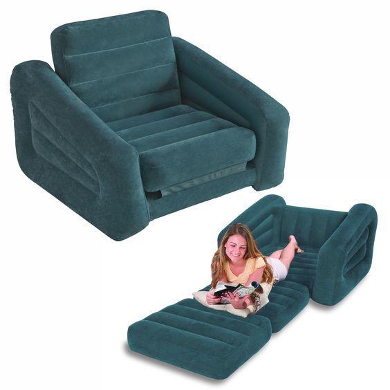 Poltrona letto gonfiabile Intex 68565 per soggiorno e salotto di casa
