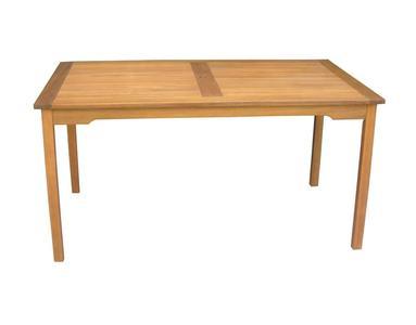 Tavolo Da Giardino in legno acacia GRANADA Rettangolare 150 X 90 Cm - Rta 311