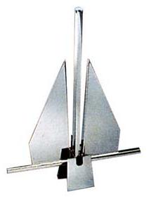 Ancora tipo «Danforth» in acciaio inox lucidato a specchio - Offerta di Mondo Nautica  24