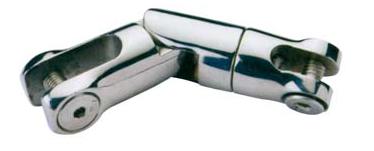 Giunto girevole doppio snodo inox 6/8 - Offerta di Mondo Nautica  24