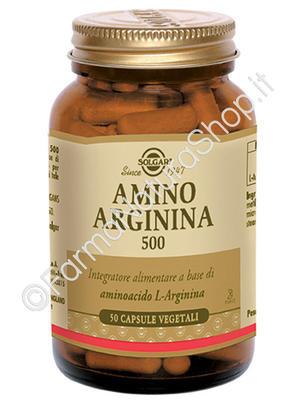 SOLGAR Amino Arginina 500