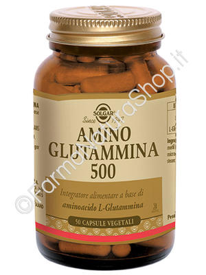 SOLGAR Amino Glutammina 500