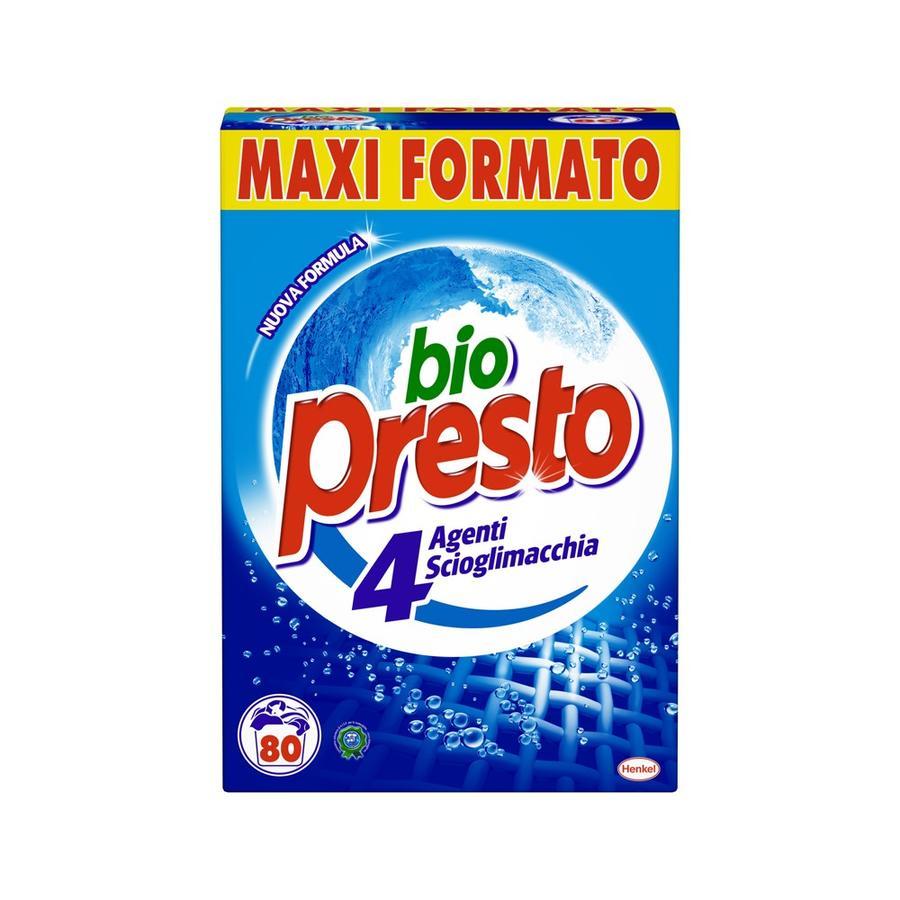 Bio Presto - Detersivo 4 Agenti Scioglimacchia, Maxi Formato - 4400 g