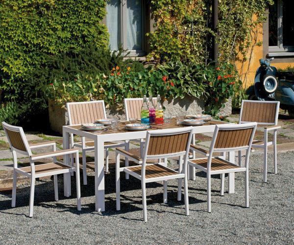 Tavolo greenwood cervinia 160 x 86 cm rte55 scopri la for Tavolini esterni
