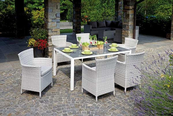 Tavolo E Poltrone Da Giardino.Dining Set Varigotti Codice Prodotto Ds06 Greenwood Modello Ds06