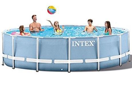 Piscina fuori terra INTEX 28762 PRISMA rotonda 732 x 132 h con pompa ed accessori