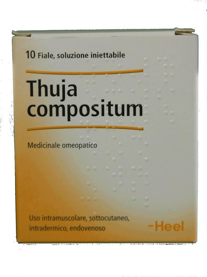 HEEL THUJA COMPOSITUM Fiale