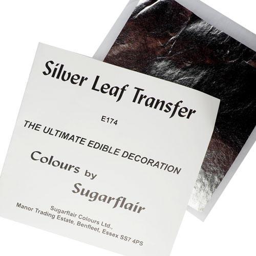 Foglia argento commestibile