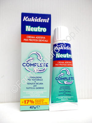 KUKIDENT® NEUTRO COMPLETE Adesivo per dentiere