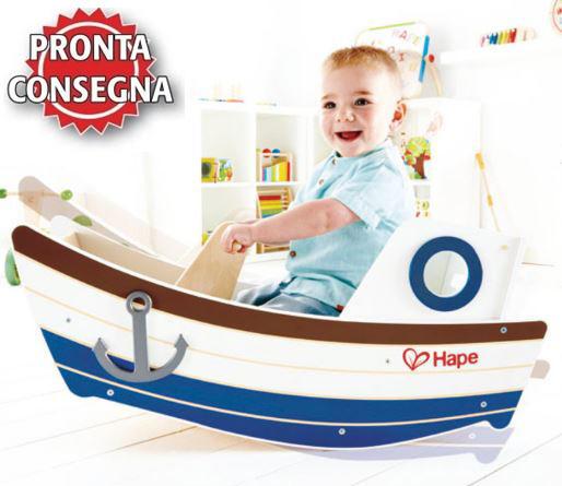 Barca a Dondolo in Legno Hape