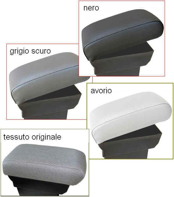 Accoudoir avec porte-objet pour Fiat 500, 500C, 500S