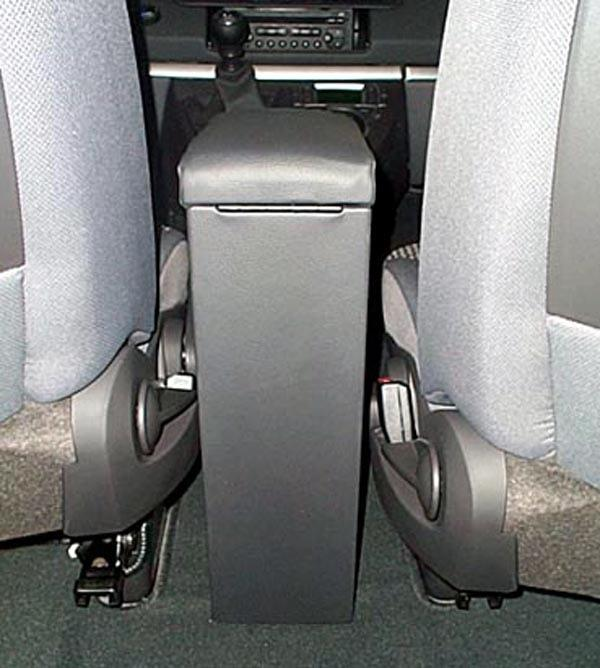 Adjustable armrest with storage for Fiat Ulysse