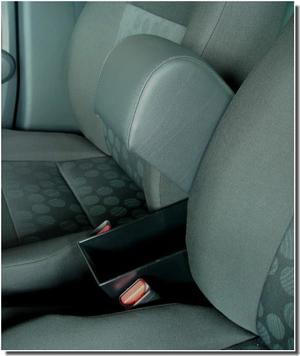 Adjustable armrest with storage for Suzuki Splash