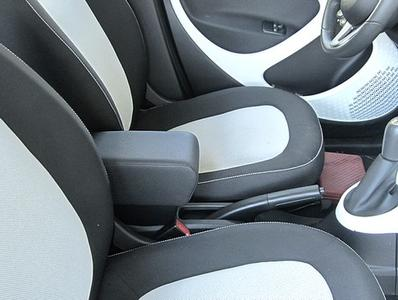 Armrest with storage for Smart ForTwo - ForFour New in black Real leather
