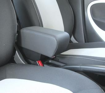 Armrest with storage for Smart ForTwo - ForFour New in black textile and eco leather