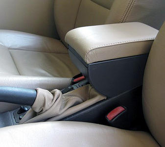 Adjustable armrest with storage for Saab 9.3 - 900S/SE