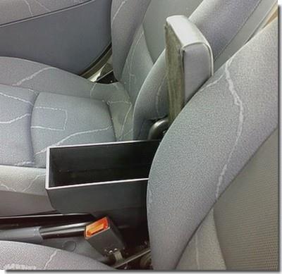 Accoudoir réglable en longueur avec porte-objet pour Nissan Pixo