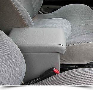 Bracciolo regolabile con portaoggetti per Land Rover Freelander (1998-2000)
