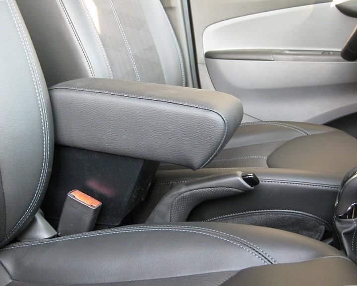 Adjustable armrest with storage for Opel Karl