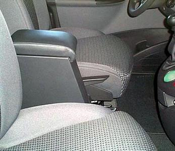 Adjustable armrest with storage for Citroen C8