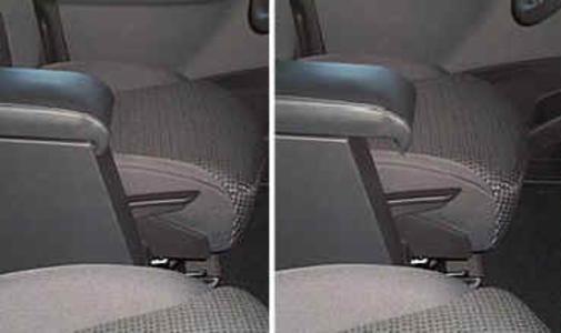 Armrest with storage for Citroen C8