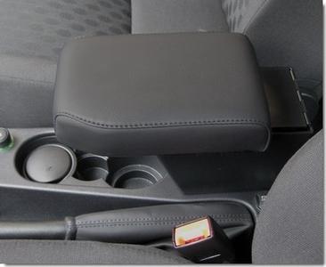 Accoudoir réglable en longueur avec porte-objet pour Land Rover Freelander 2 (2007-2012)