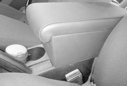 Adjustable armrest with storage for Fiat Bravo (from 2007)