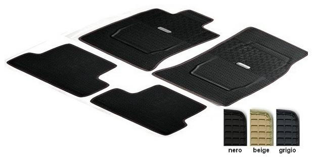 Rubber Floor mats - custom made - 3 colors for Nissan Juke