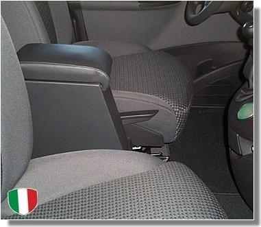 Adjustable armrest with storage for Peugeot 807