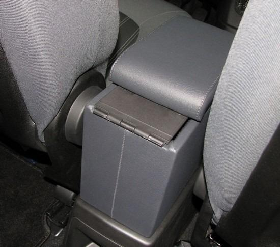 Adjustable armrest with storage for Lancia Musa
