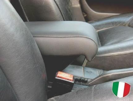 Adjustable armrest with storage for Saab 9000