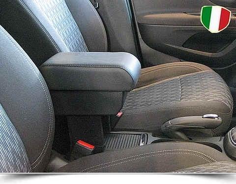 Bracciolo regolabile con portaoggetti per Opel Mokka