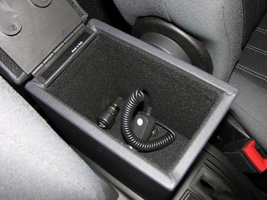 Armrest with storage for Fiat Idea