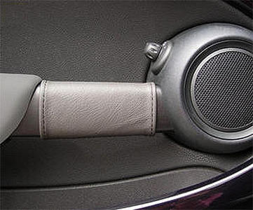 1 Pair of Door Handle Covers in Italian Genuine leather for New Mini (2007-2013)
